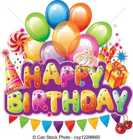 Happy birthday clipart free - .