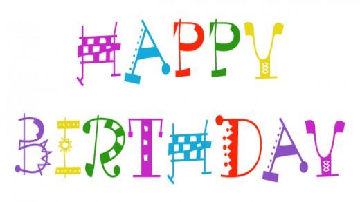 Happy Birthday Clipart Free - - Happy Birthday Clip Art