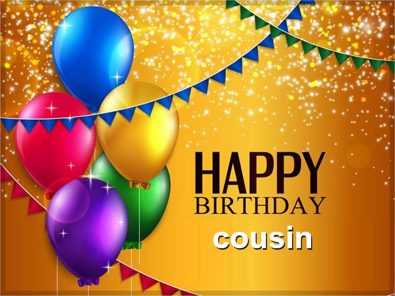 Happy Birthday Cousin Clipart. 1000  images about Birthday .