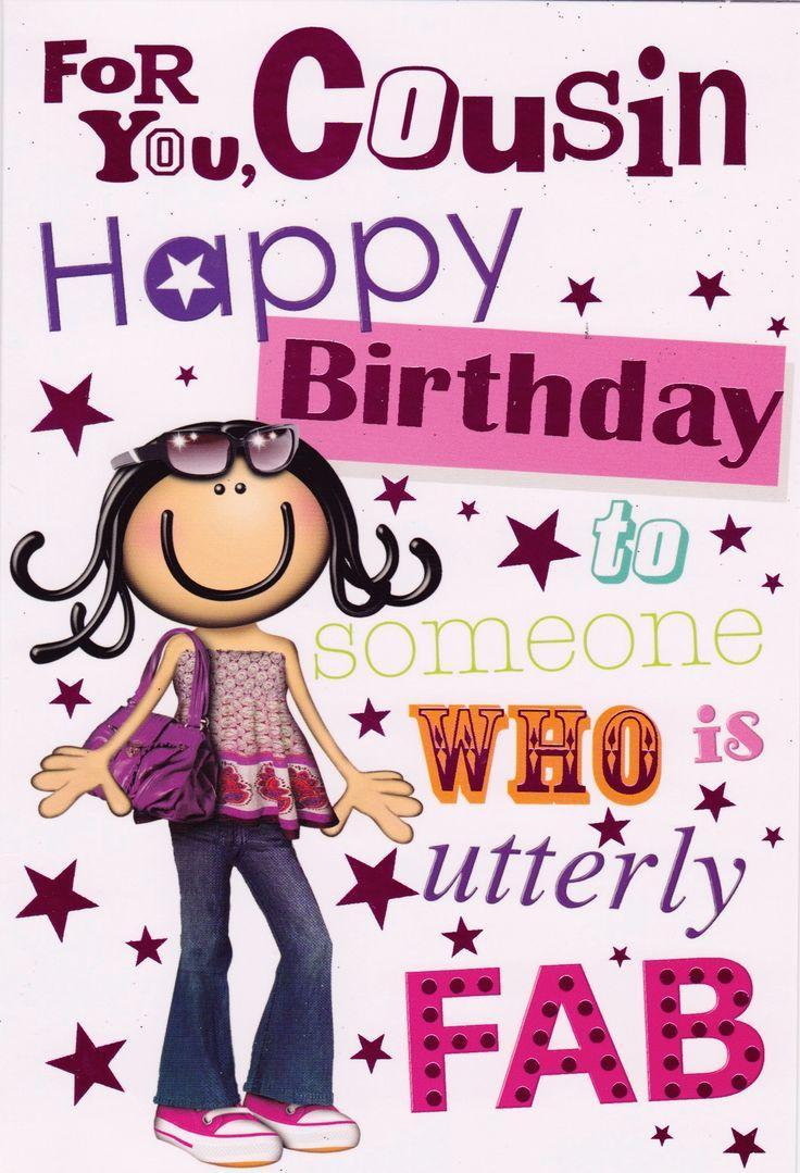 Happy Birthday Cousin Clipart
