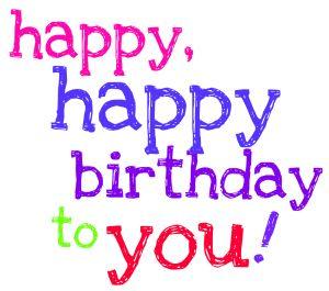 Happy birthday friend clipart 3