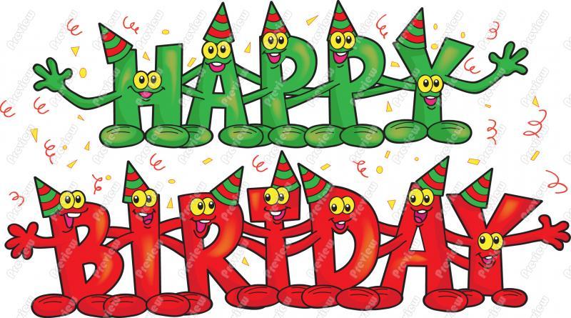 Happy Birthday Minions. animated december clipart .