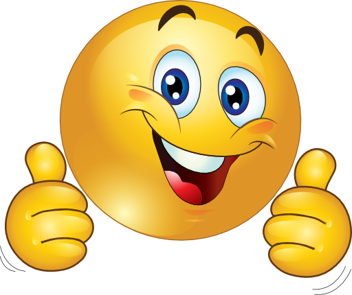 emoticon happy png | Two Thumbs Up Happy Smiley Emoticon Clipart - Royalty  Free Public .