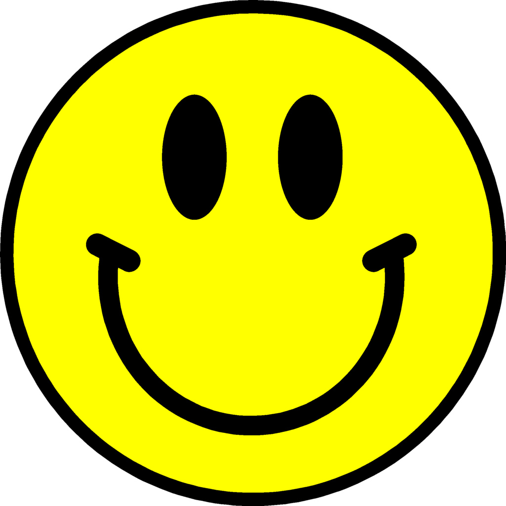 Happy face smiley face emotio - Happy Face Clipart