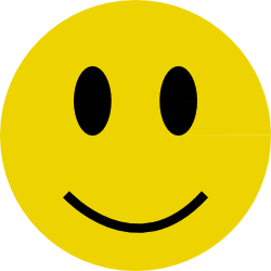 Smiley Face Clipart #1