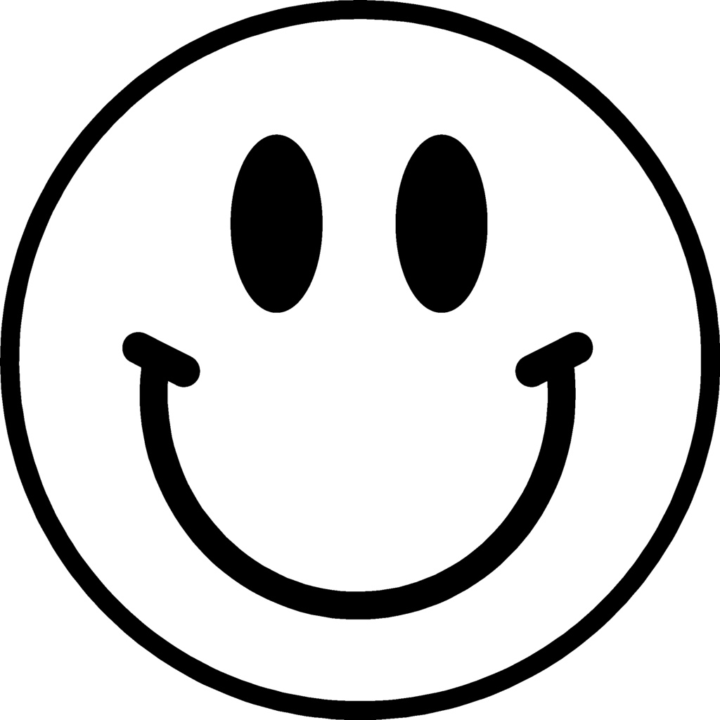 Smiley Face Transparent Background Free Clipart
