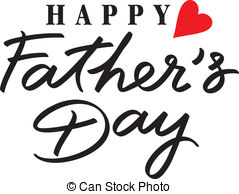 ... happy fathers day hand lettering handmade calligraphy happy fathers day Clipartby ...