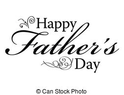 ... Happy Fathers Day Type - Happy Fathers Day Vector Type