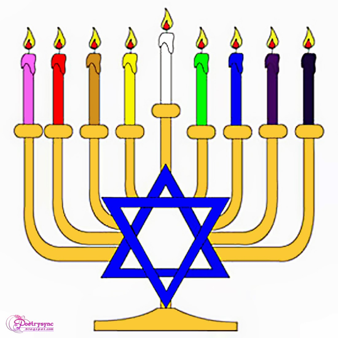Happy hanukkah clip art free