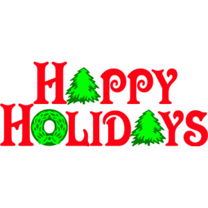 Happy Holiday Clip Art Clipart Best