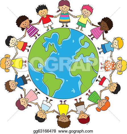 Happy kids u0026middot; happy children holding hands