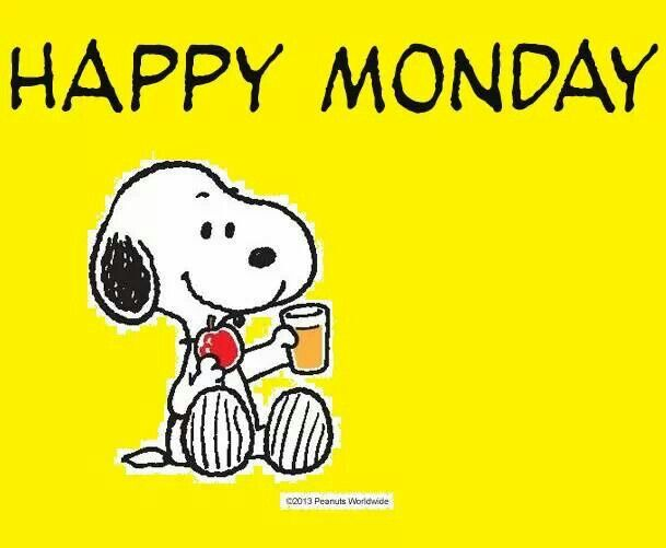 Happy Monday Snoopy Car Tuning