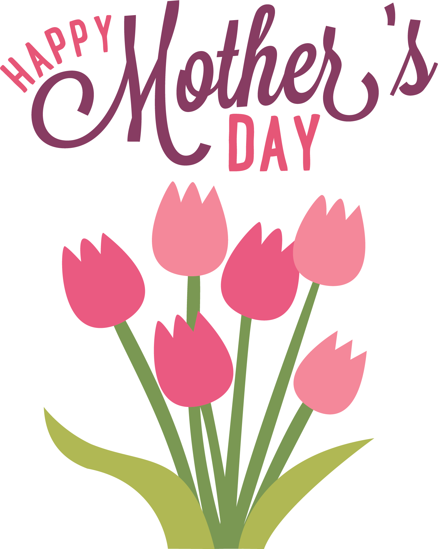 Happy Mothers Day Clipart · holidays · mothers day