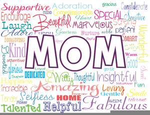 Happy Mothers Day Clipart Free Image
