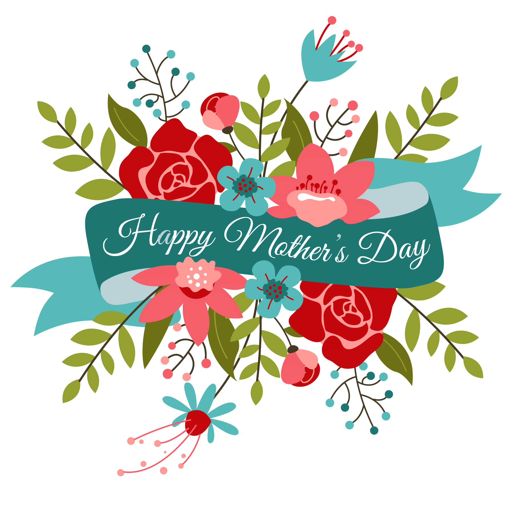 Image result for happy mothers day clipart