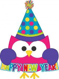 Happy new year free clip art