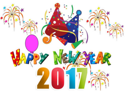 Happy New Year Clipart 2017. Related Cliparts
