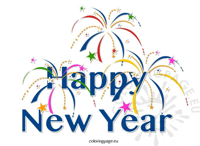 Happy New Year Clipart · hol