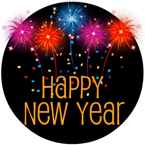 Have A Happy New Year Clipart #1