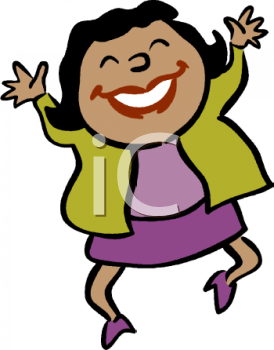 Happy Person Clip Art - Happy Person Clipart
