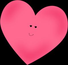 Happy Pink Heart