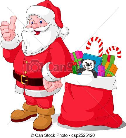 Happy Santa - Santa Claus .