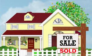 Happy Spring Real Estate Image. Believe me, Google Adsense Works!!