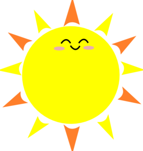 Happy Sun Clip Art - Happy Sun Clipart