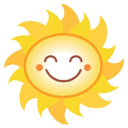 Happy sun images about sun on clip art