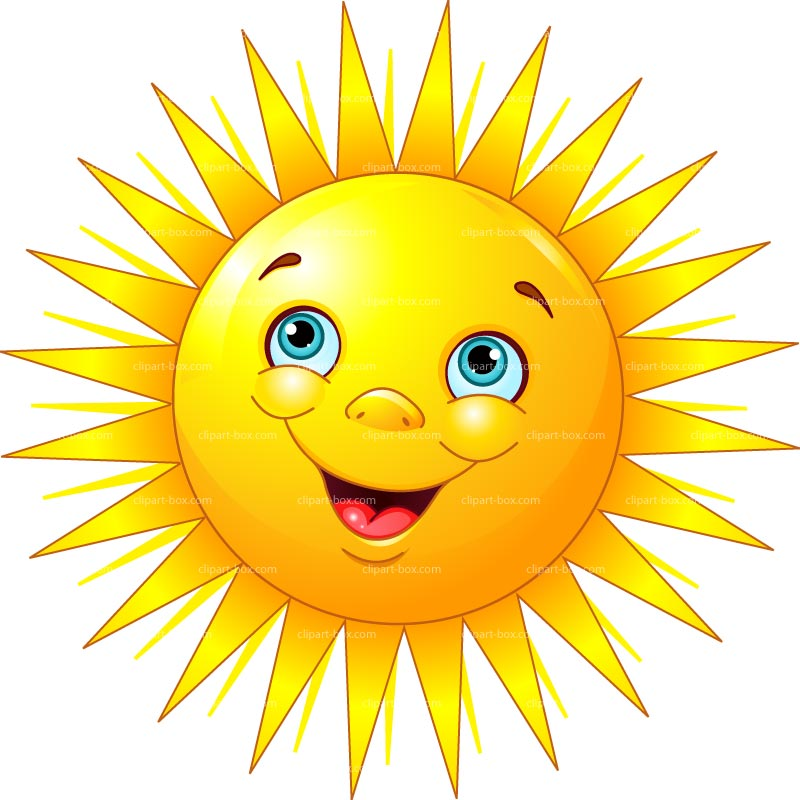 Happy sun sunshine clipart
