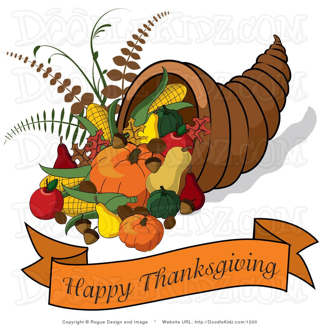 Happy thanksgiving clipart kid