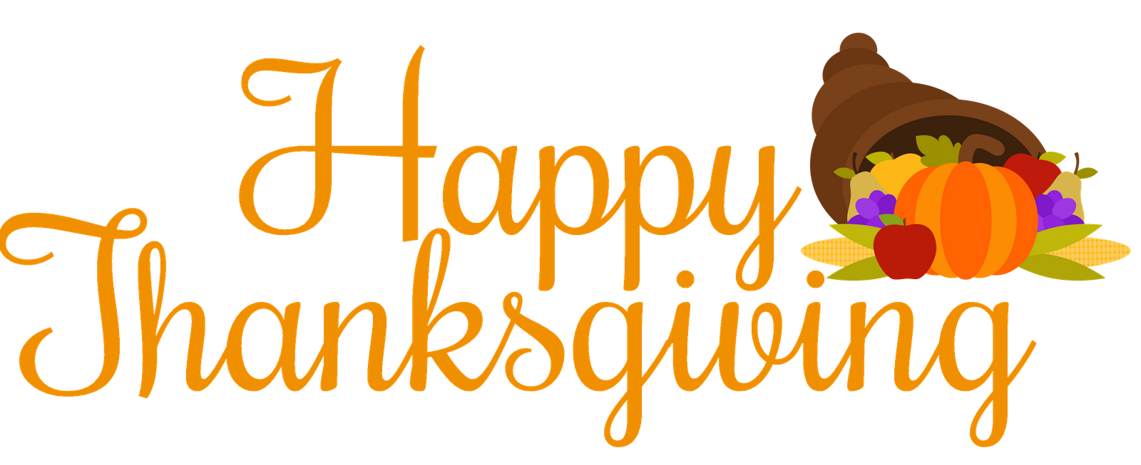 Happy Thanksgiving Clipart . - Thanksgiving Clipart Free