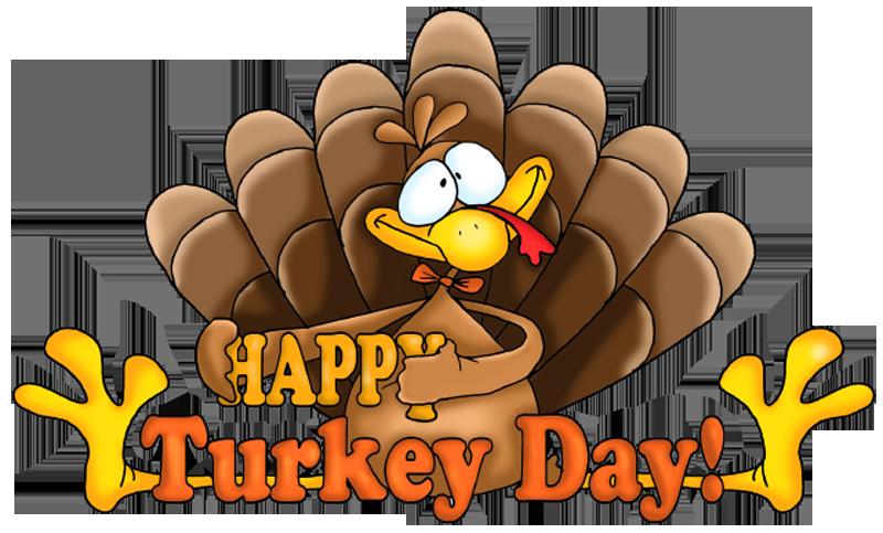 Happy thanksgiving turkey .
