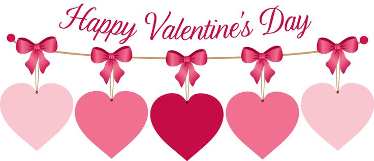 Happy valentines day banner clipart valentine week 6