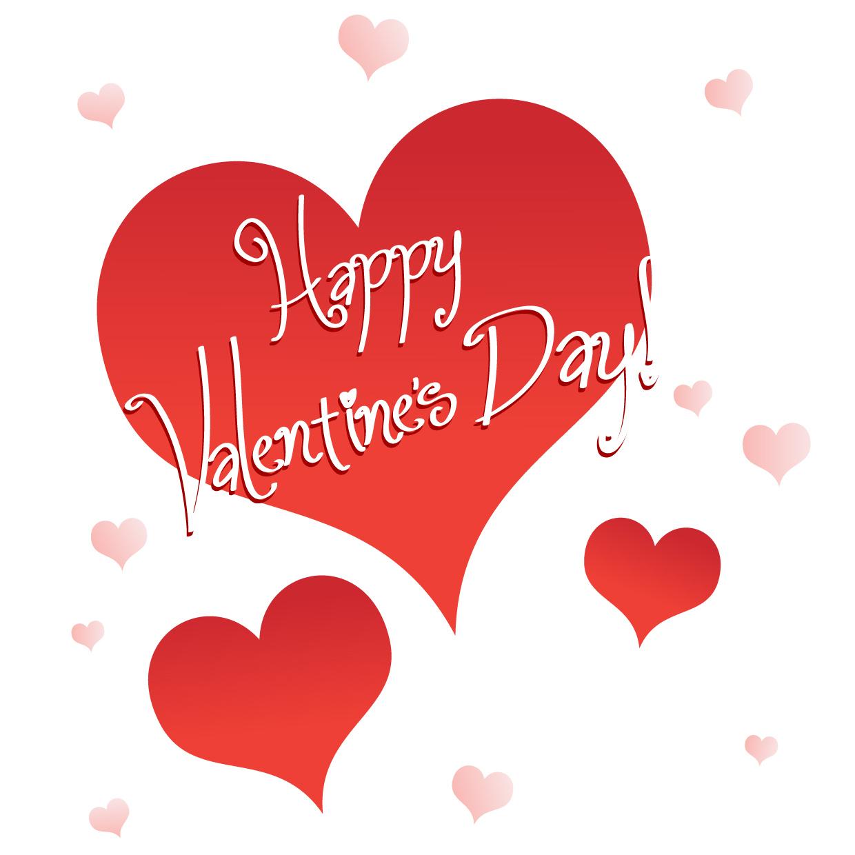 Happy valentines day clip art .