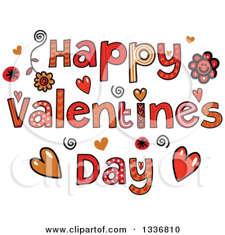 Happy Valentines Day Text .