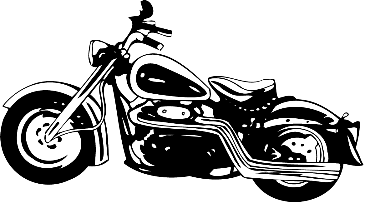 Harley davidson clipart motorcycle clipartlook