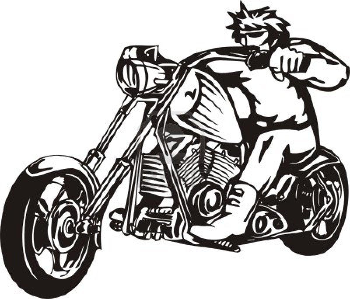 Harley Davidson Motorcycle Clip Art Motorcycle