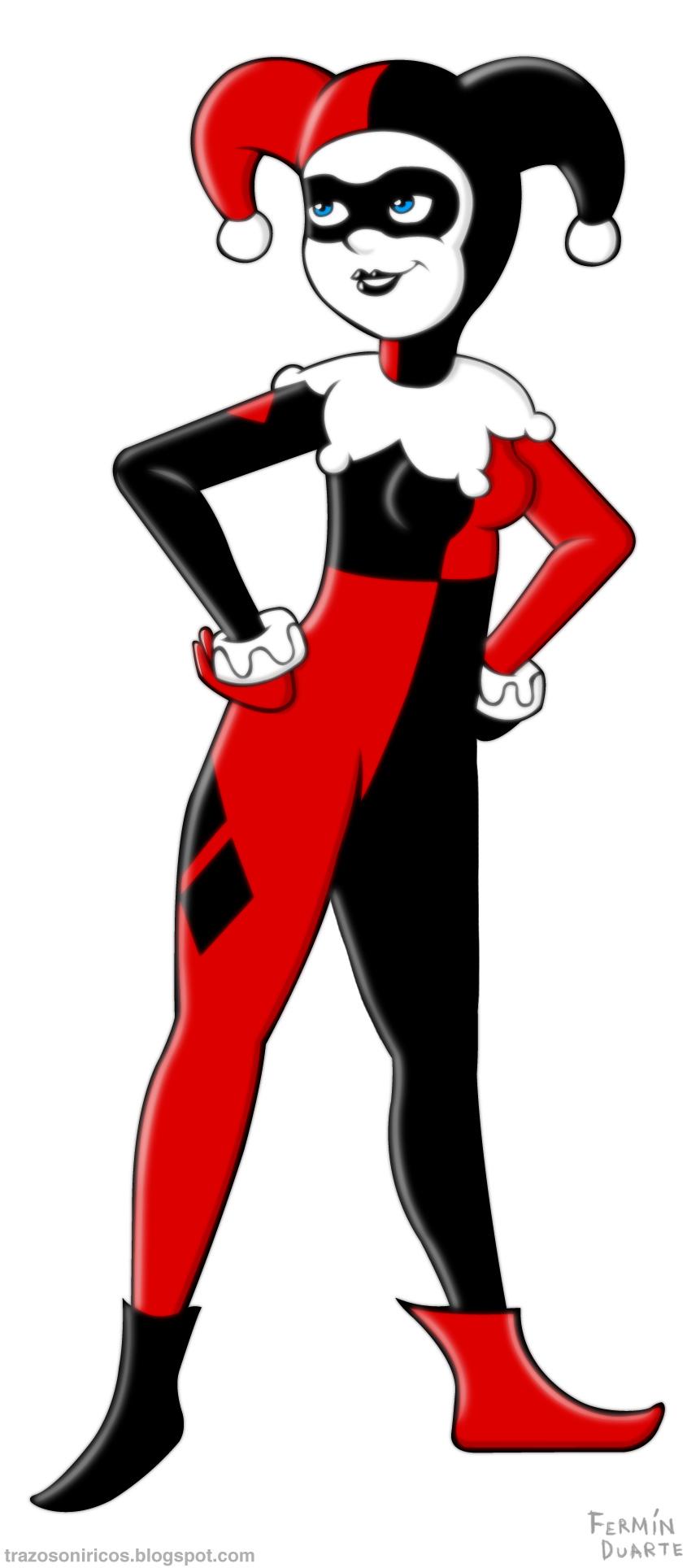 Harley Quinn Clipart Hd.