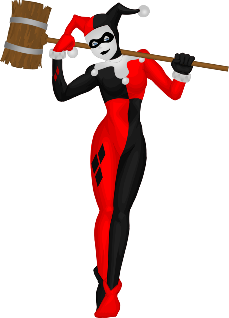 Harley Quinn (Costumed) by Abdomental ClipartLook.com