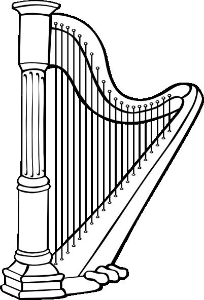 Harp Clip Art At Clker Com Vector Clip Art Online Royalty Free