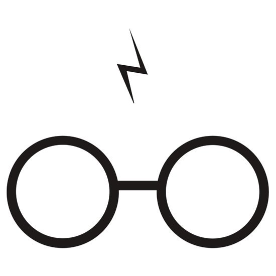 Harry Potter T Shirt Harry Potter Scar And Glasses Harry