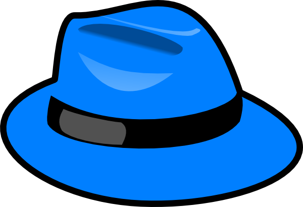 Blue Hat Clip Art At Clker Hdclipartall.com - Vector Clip Art Online, Royalty Free U0026  Public Domain