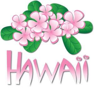 Hawaii Clipart Image Tropical Hawaii Design Element