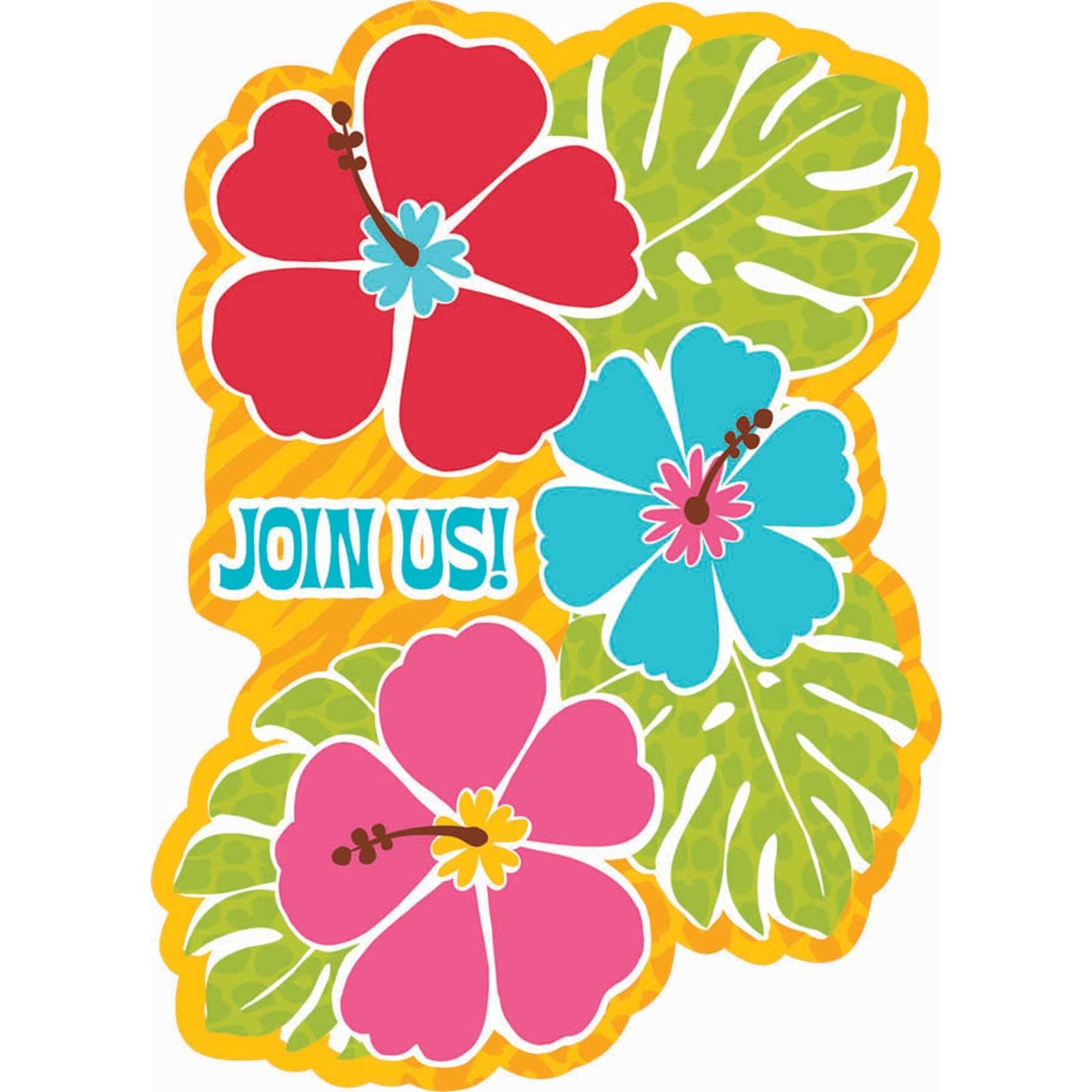 Hawaii luau clipart clipart kid 3