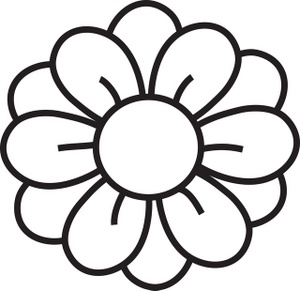Hawaiian Flower Clip Art Black And White   Clipart Panda - Free ...   black and white clip art   Pinterest   Drawing flowers, Clip art and Flower
