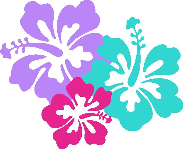 Clipart Hawaiian Flower Clipart