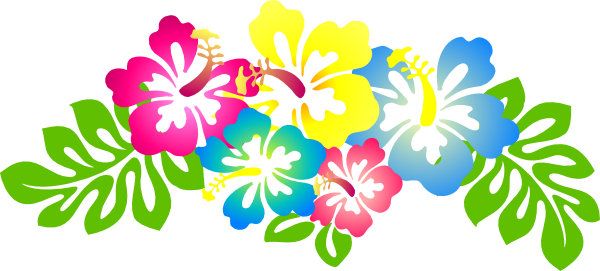 Hibiscus Flower Clip Art | Hi - Hawaiian Flower Clipart