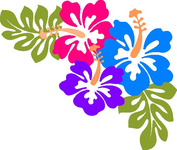 Hawaiian luau word clipart clipart kid