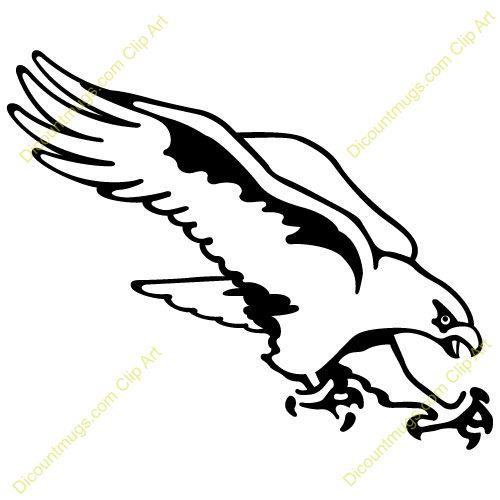 Hawk Stencil | hawk clip art 6 500×500